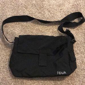 French Connection UK messenger bag